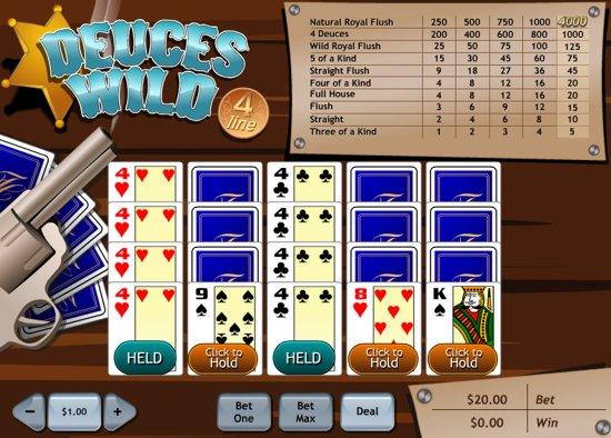 online slots free poker 4 of a kind