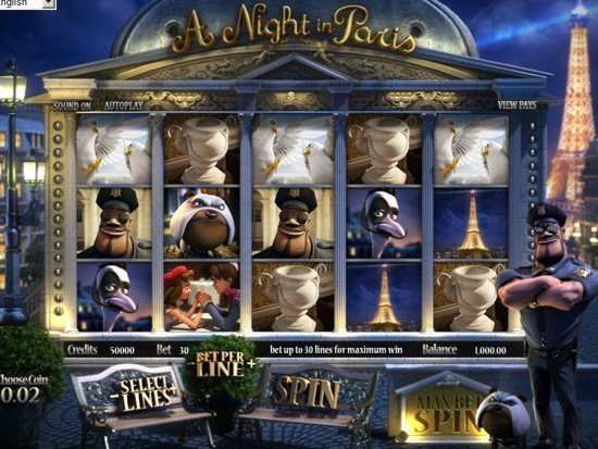Paris lights slots