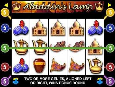 Click Here to Play Aladdins Lamp in a New Window!