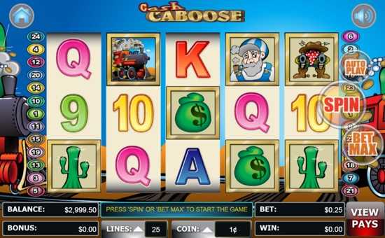 Cash Caboose Slot Machine - Play the Online Slot for Free