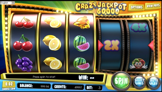 Crazy Faces Slots - Play Espresso Games Games for Fun Online