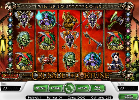 Heroes & Beasts Slot Machine - Play for Free Online Today