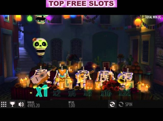 Esqueleto Explosivo™ Slot Machine Game to Play Free in Thunderkicks Online Casinos
