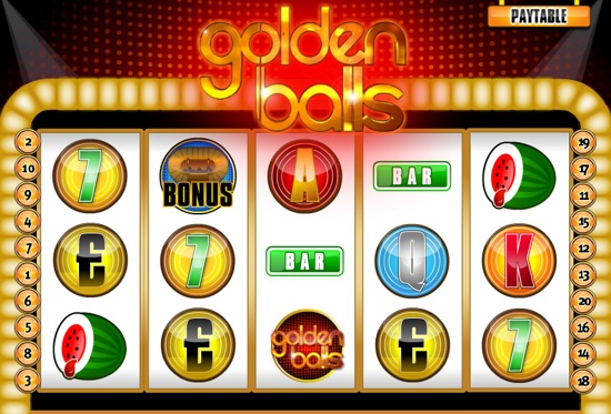 Slot machines golden balls