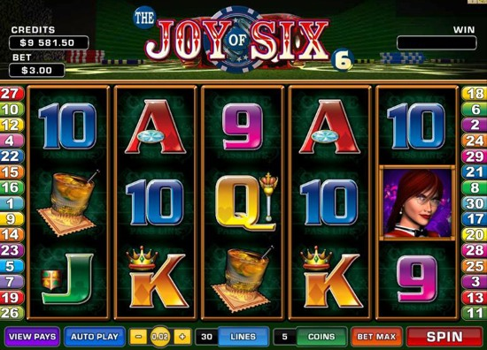 Joy Of Six Slot Machine Online ᐈ Microgaming™ Casino Slots