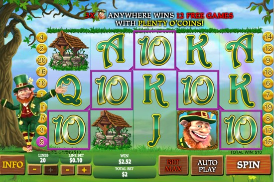 Slot Machine Features - Online Slots with Lots of Bonus Features