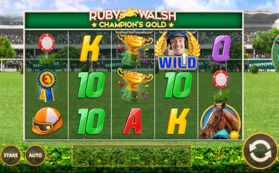 Ruby Walsh: Champion's Gold Slot - Play it Now for Free