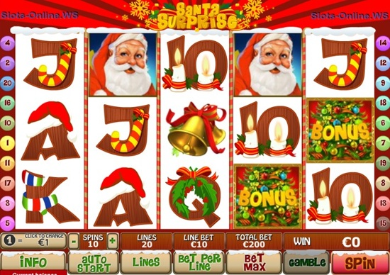 Santa's Surprize Slot Machine - Play Online for Free Today