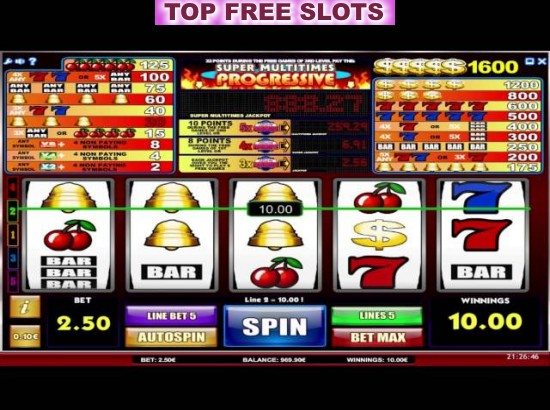 Super Multitimes Progressive Slots - Play for Free Online