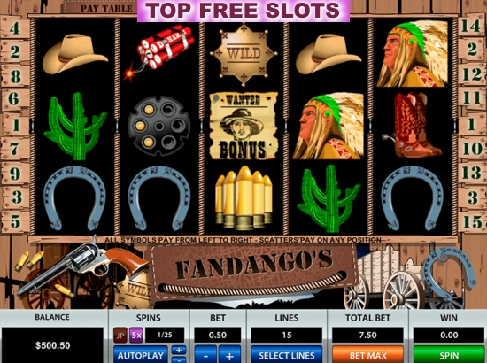 Wild West Slots - Play Free Online Slot Machines in Wild West Theme