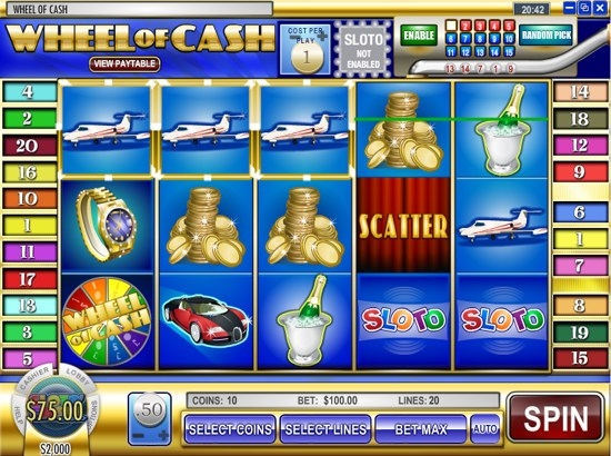 Cash Wheel Slots - Play Online Video Slot Games for Free