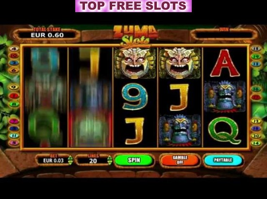 Slot machine zuma 3d